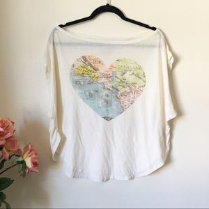 Chasor World Graphic Tee Size S